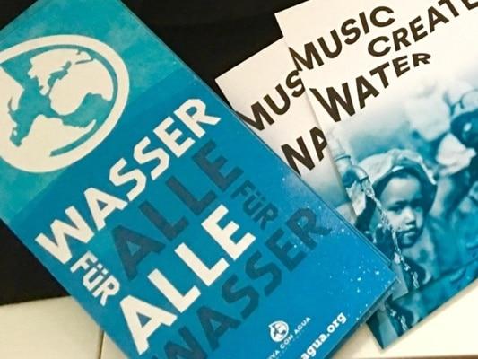 Sauberes Wasser - Kreativer Event